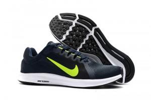 e9a5d8ba7 Nike Downshifter 8 Navy Obsidian Volt 908984 007 Men's Casual Shoes Sneakers