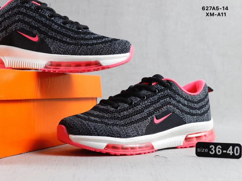 new arrival 48251 6967f Nike Air Max Vapormax Flyknit Grey Pink White Women's Running Shoes  NIKE-ST002722