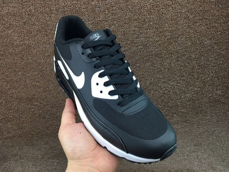 Nike Air Max 90 Ultra 2. 0 Essential Black White 875695 008 Men's Casual Shoes Sneakers 875695 008A