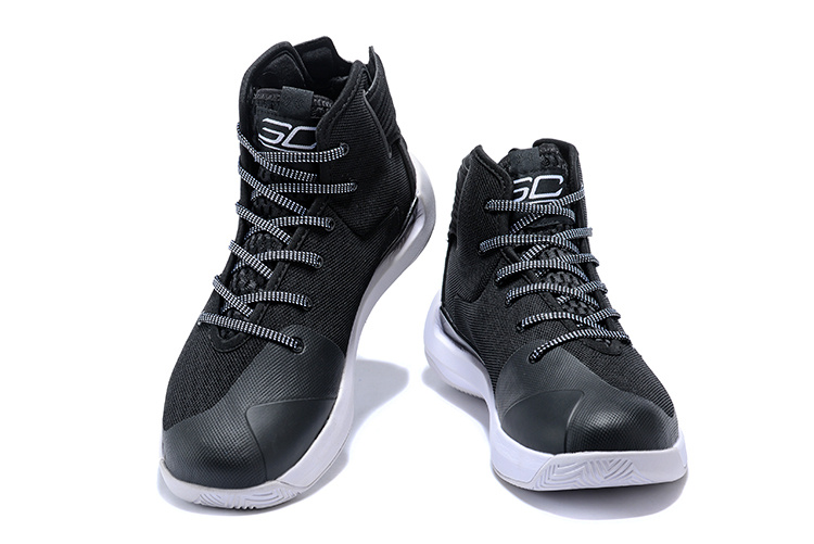 new styles e30e6 23fef Under Armour Steph Curry 3. 5 Black White Men's Basketball Shoes  NIKE-ST002614