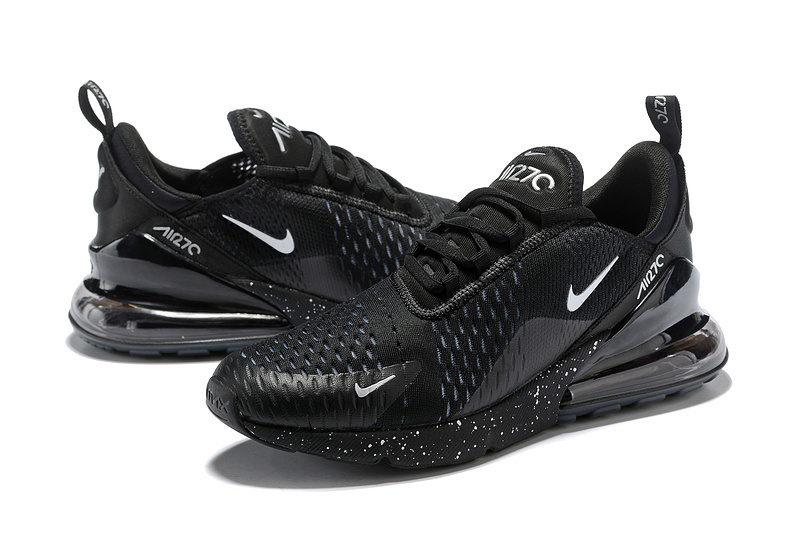 the best attitude ade2f 2f629 Nike Air Max 270 Flyknit Black Silver AH8050 202 Men's Casual Shoes  AH8050--202