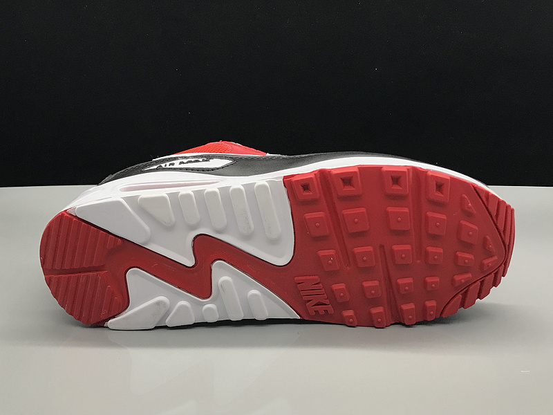 Nike Air Max 90 October Red Black White Women's Men's Casual Shoes Sneakers NIKE ST002732