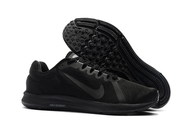 9799a879c386 Nike Downshifter 8 Black Total Black 908984 002 Men s Casual Shoes ...