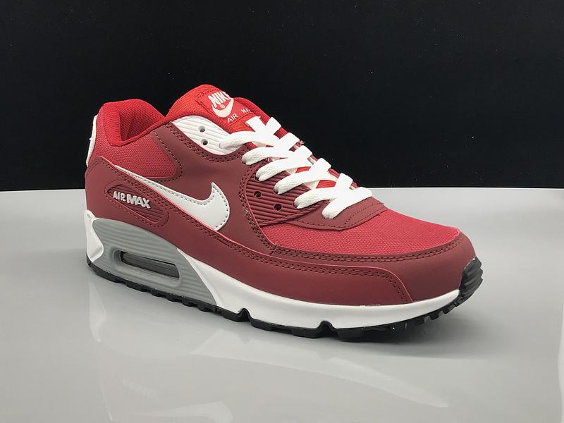 buy popular 31562 53d77 Nike Air Max 90 Burgundy ...