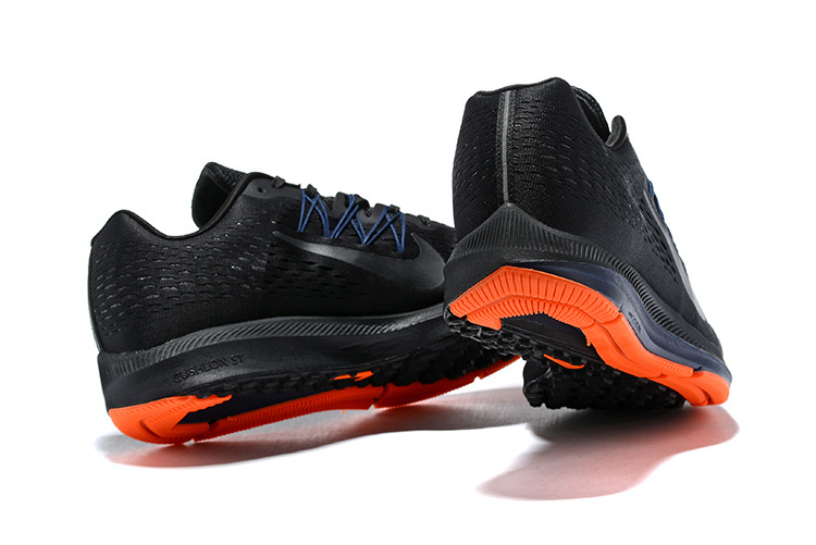 Nike Zoom Winflo 5 Black Anthracite Orange AA7406 088 Men s Casual Shoes  Sneakers 1d146c1e3