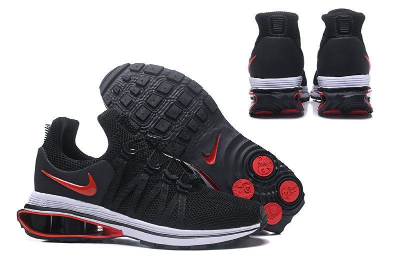 be72a3cc0b5 Nike Shox Gravity Black Varsity Red White Wolf Grey AR1999 016 Men s Casual  Shoes