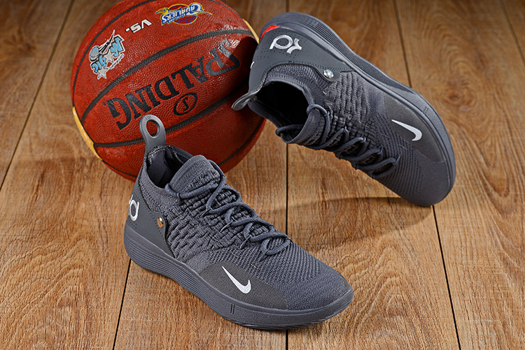 6edbaf11d3cd Nike Zoom KD 11 EP Wolf Grey Red Men s Basketball Shoes NIKE ...