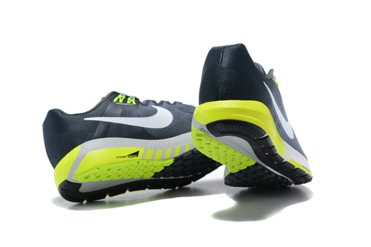 e25887a325a22 Nike Air Zoom Structure 21 Cool Grey Anthracite Volt White 904695 007 Men s  Casual Shoes Sneakers