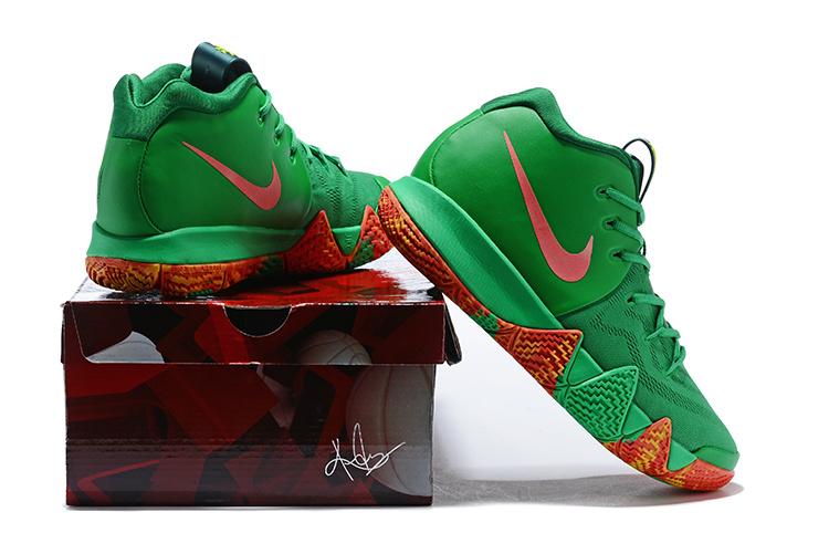 6d7602e985d6 Nike Kyrie 4 TV PE 6 Fall Foliage AR4602 300 Men s Basketball Shoes ...