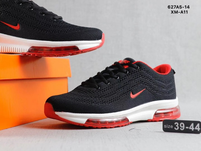 promo code f6470 277fa Nike Air Max Vapormax Flyknit Red Black White Men's Running Shoes  NIKE-ST002726