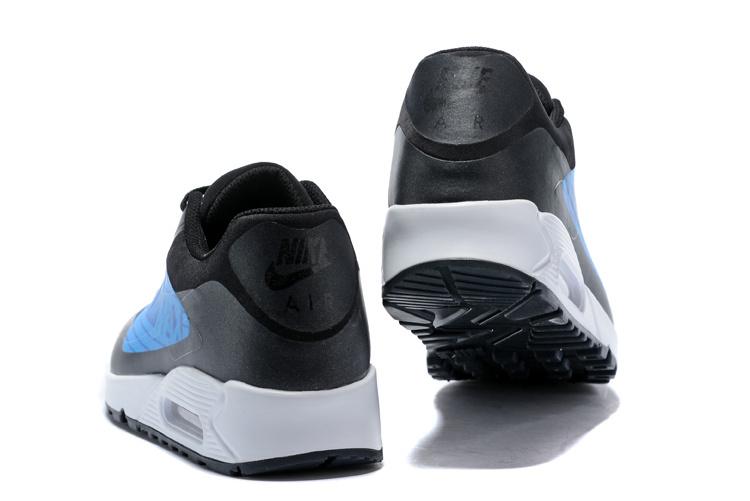 eeba6a5d956 Nike Air Max 90 NS GPX Big Logo Black Laser Blue AJ7182 002 Men s Casual  Shoes