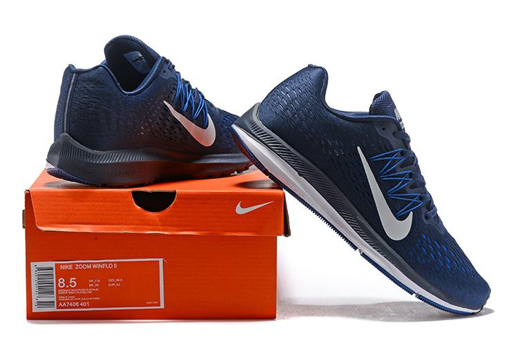 f489fbdd18a3 cheap nike men navy zoom winflo running shoes b6924 4fc88
