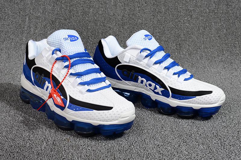 b915869eb1 Nike Air VaporMax 95 OG Undftd Kpu BIG LOGO Royal Blue White Black AJ7183  140 Men's