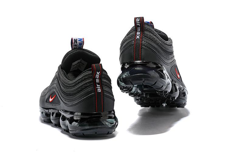 Nike Air VaporMax 97 Silver Bullet Black Red Men's Women's Running Shoes NIKE ST002507