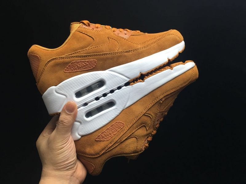 Nike Air Max 90 Ultra 2. 0 Leather Flax Sail Gum Med Brown 924447 200 Men's Casual Shoes Sneakers 924447 200