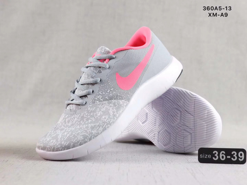 new arrivals 89e95 13d6d Nike Epic React Flyknit Grey Pink Women s Sportswear Running Shoes