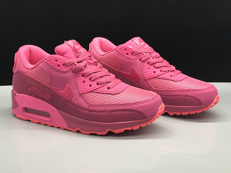 c790f3b470 Nike Air Max 90 Hyper Pink Women's Casual Shoes Sneakers NIKE ...