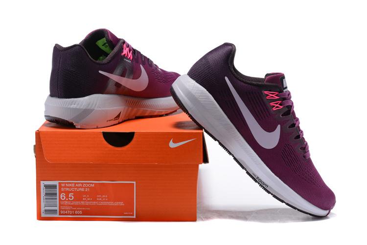 6e603fa2952d8 Nike Air Zoom Structure 21 Tea Berry Purple 904701 605 Women s ...