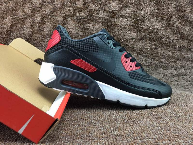 560ad2a7bbc5 Nike Air Max 90 Ultra 2. 0 Essential Anthracite Red Black 875695 007 ...