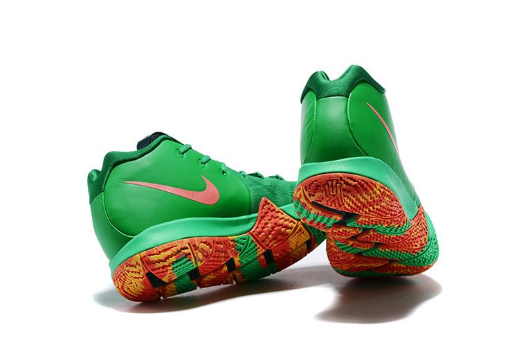 e8491fb0cfb3 Nike Kyrie 4 TV PE 6 Fall Foliage AR4602 300 Men s Basketball Shoes ...