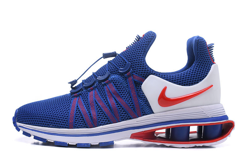 07459a80502 Nike Shox Gravity Game Royal White University Red AR1999 406 Men s Casual  Shoes