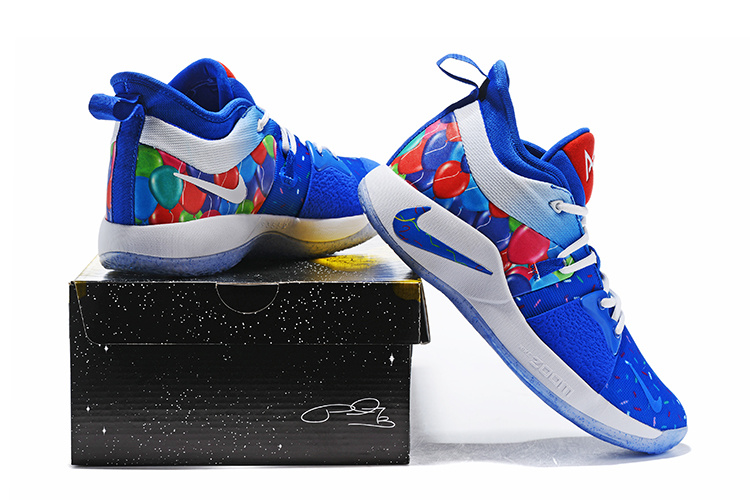 6dac81fd706 Nike Paul George PG 2 Celebrate Birthday Men s Basketball Shoes NIKE ...