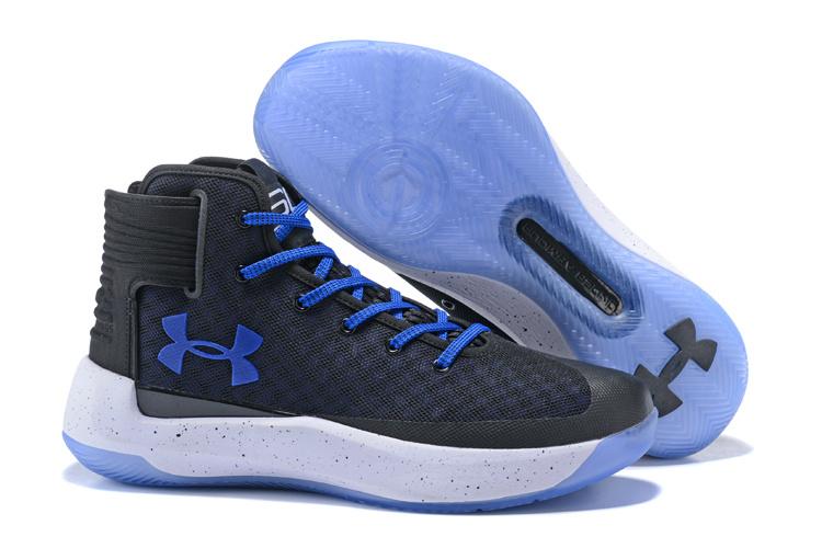 09da9935a0d Under Armour Steph Curry 3. 5 Dark Space Grey Royal Blue White Men s  Basketball Shoes