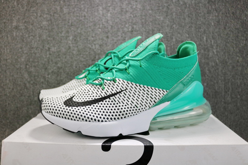finest selection 8886a 352ed Nike Air Max 270 Flyknit Clear Emerald ...