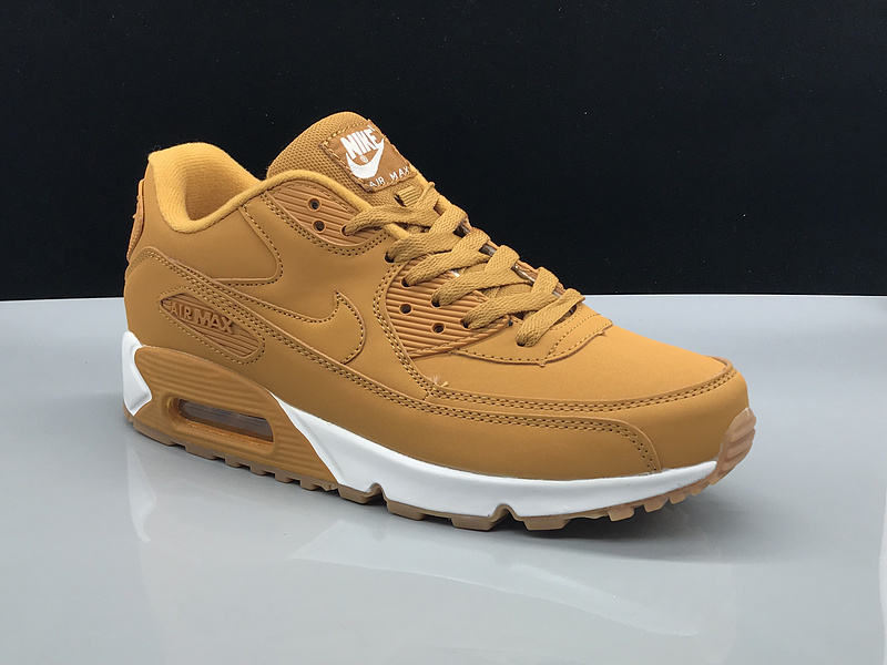 Wheat Casual Sneakers Air White Women's Men's Nike Max 90 Shoes dtsCxhQrBo