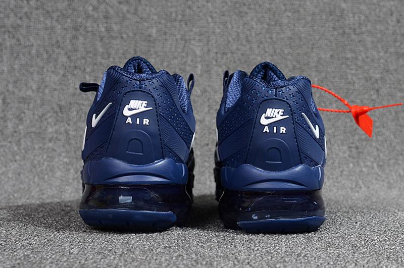 save off 52319 25fa0 Nike Air VaporMax 95 OG Undftd Kpu BIG LOGO Navy Blue White AJ7183 441  Men's Running Shoes AJ7183-441