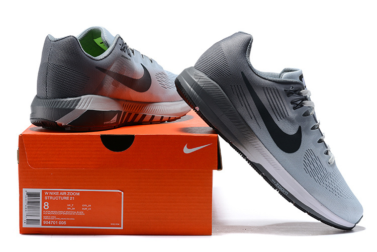 huge discount 56760 fac32 Nike Air Zoom Structure 21 Pure Platinum Cool Grey Wolf Grey Anthracite  904695 005 Men's Casual Shoes Sneakers 904695-005