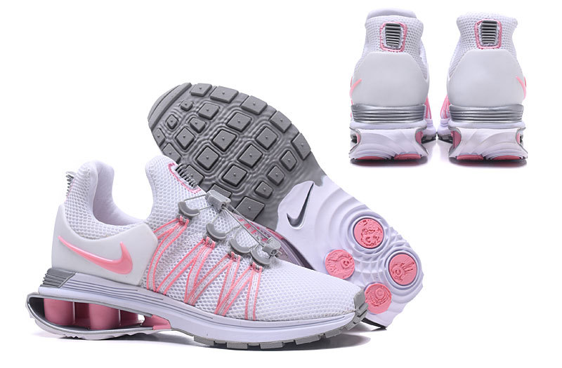 Nike Shox Gravity Pink White Grey Women s Casual Shoes NIKE-ST002602 ... aca44d62c71
