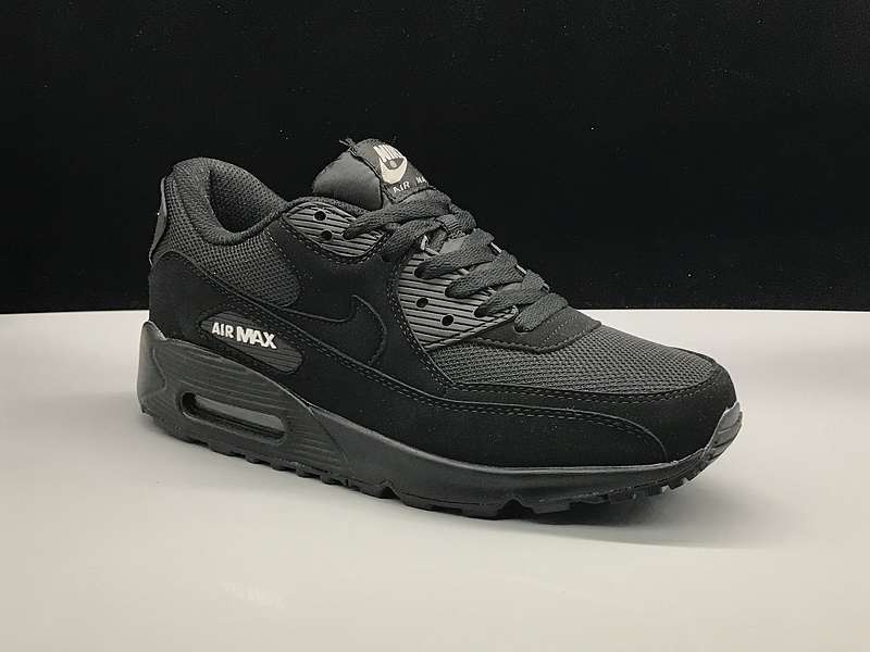 huge selection of 77064 7a119 Nike Air Max 90 Triple Black ...
