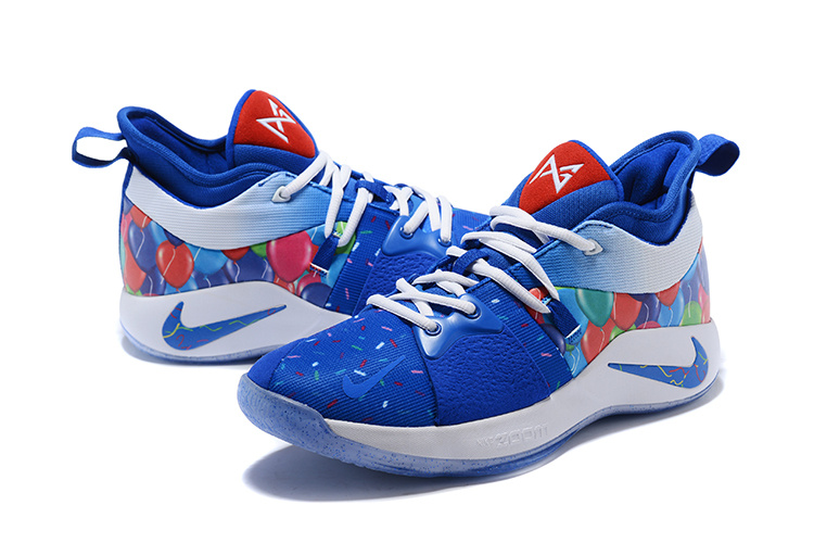 4a218014fa47 Nike Paul George PG 2 Celebrate Birthday Men s Basketball Shoes NIKE ...