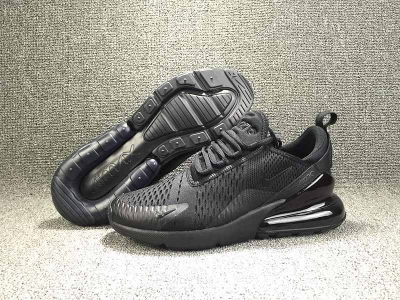 finest selection 7817f 84069 Nike Air Max 270 Flyknit Triple Black AH8050 005 Men's Casual Shoes  AH8050--005