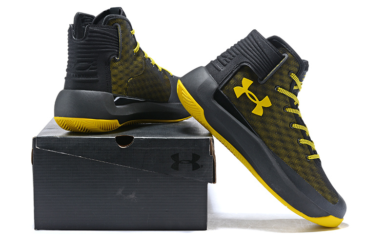 detailed look ef45b d3dae Under Armour Steph Curry 3. 5 Black Yellow Men's Basketball Shoes  NIKE-ST002613