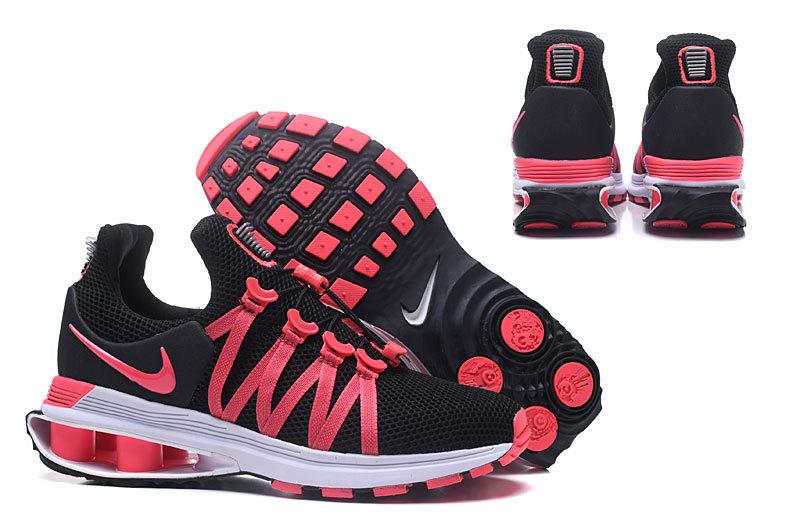 513072e1dc6 Nike Shox Gravity Black Pink White Women s Casual Shoes NIKE ...