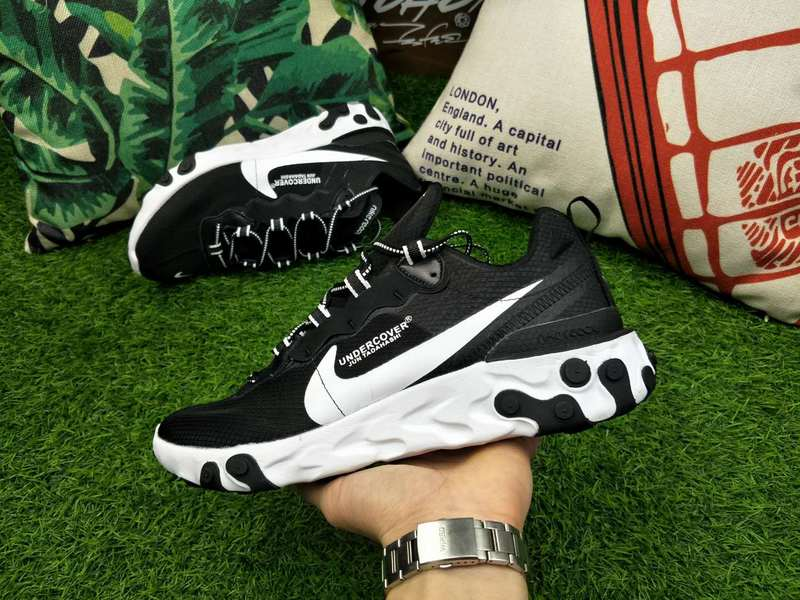 0773da298c9f UNDERCOVER x Nike Upcoming React Element 87 Black White AQ1813 700 ...