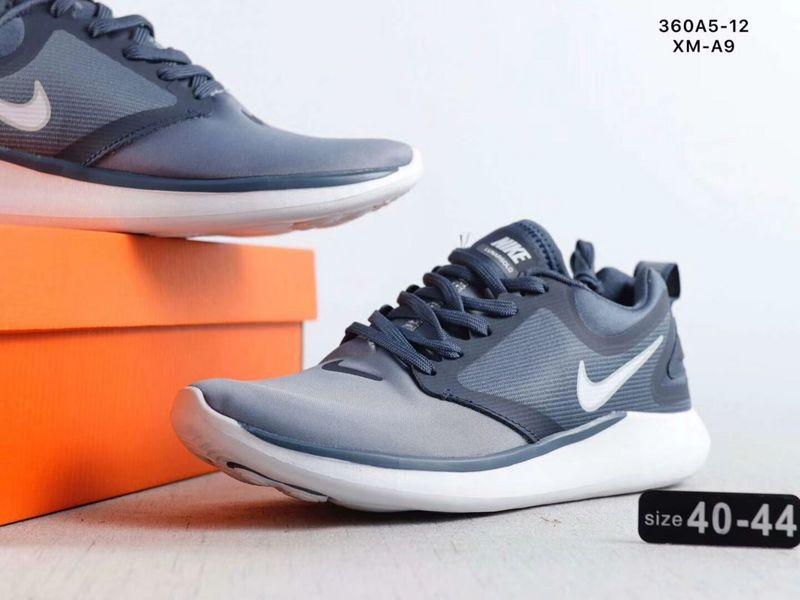 da1495de47ea Nike LunarSolo 2018 Navy Blue White Men s Casual Shoes NIKE-ST002717 ...