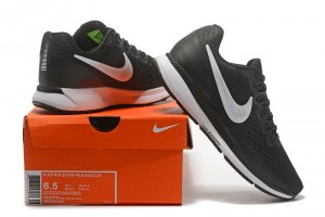 5a181a05d54 Nike Air Zoom Pegasus 34 FlyEase Black Dark Grey Anthracite White 904678  001 Men s Casual Shoes