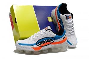 89d25f9891 Nike Air Max 95 Triple White Colored Borders AQ4138 100 Women's ...