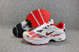 ce8064de919c Supreme x Nike Zoom Streak Spectrum Plus White Habanero Red Black AQ1279  100 Women s Men s Casual