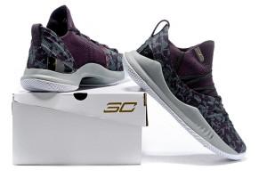 acd2a288e64 Under Armour UA Curry 5 Black Purple Men s Basketball Shoes NIKE ...