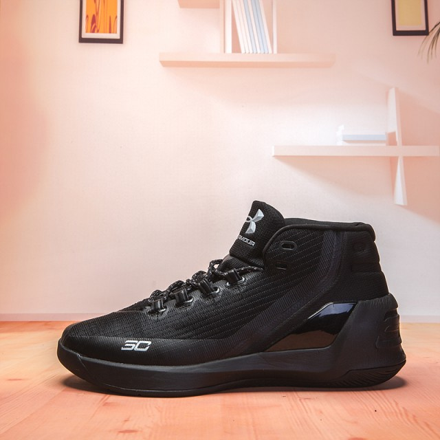 4bc99168cf0 Under Armour Curry 3 Trifecta Black 1269279 001 Men s Basketball Shoes