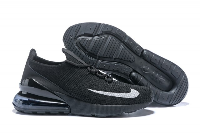 info for d2f40 34023 Nike Air Max 270 Flyknit Black White Women's Men's Casual Shoes  NIKE-ST002928