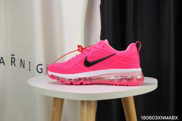Nike Air Max 2019 Kpu Pink Black White Women S Running Shoes St003063 Withthe Com