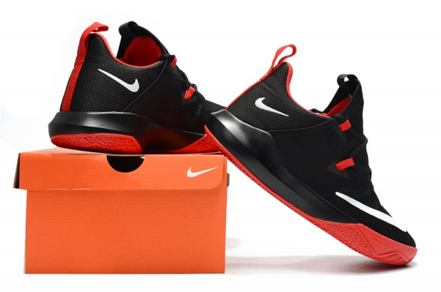 Nike Zoom Shift EP 2 Black Red White Men's Basketball Shoes NIKE ST002840