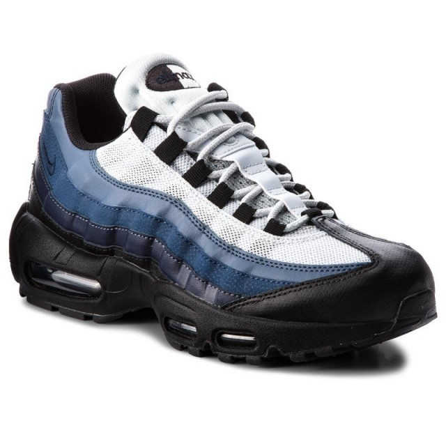 half off baa8f ef516 Nike Air Max 95 Essential Black Obsidian White 749766 028 Men's Casual  Shoes 749766-028