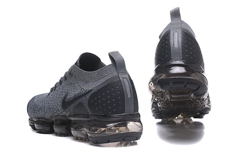 best cheap e244b 6cd4a Ventilation Nike Air VaporMax Flyknit 2. 0 W Dark Grey Black WolfGrey  942843 002 Men's Running Shoes 942843-002