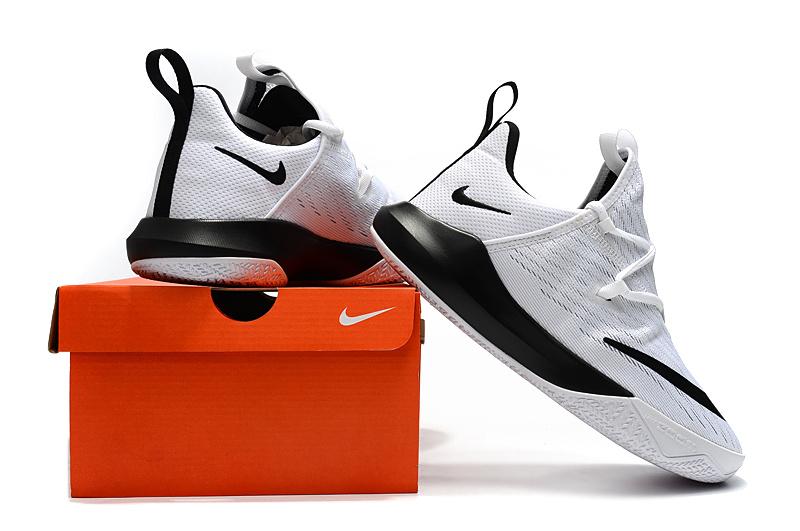 52ccd36deadb Nike Zoom Shift EP 2 White Black Men s Basketball Shoes NIKE ...